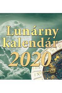 Lunárny kalendár - stolový kalendár 2020
