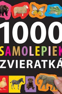 1000 samolepiek - Zvieratká