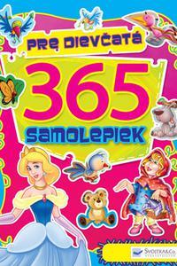365 samolepiek pre dievčatá