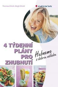4 týdenní plány pro zhubnutí - Hubneme s dobrou náladou