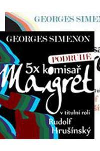 5x komisař Maigret + 5x komisař Maigret podruhé - Audiokniha