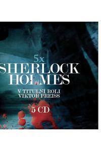 5x Sherlock Holmes - Audiokniha