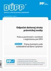 DUPP 14/2014 - Odpočet daňovej straty právnickej osoby