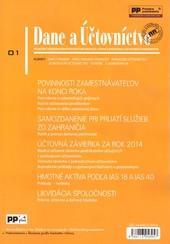 Dane a účtovníctvo 1/2015