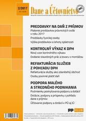 Dane a účtovníctvo 2-2017