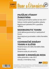 Dane a účtovníctvo 3-2017