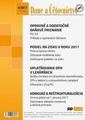 Dane a účtovníctvo 4-2017