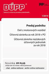 DUPP 1/2019 Predaj podniku