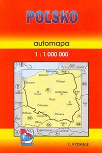 Automapa - Polsko 1:1 000 000