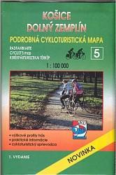 Cyklomapa Košice, Dolný Zemplín 1:100 000
