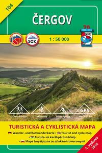 Čergov 1:50 000