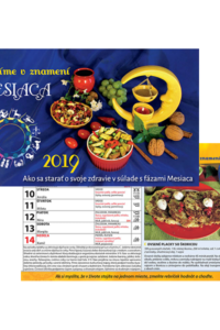 Varíme v znamení mesiaca 2019 - stolový kalendár
