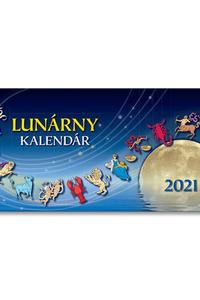 Lunárny kalendár2021 - stolný kalendár