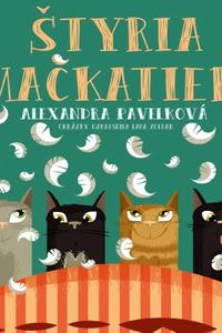 Štyria mačkatieri CD (audiokniha)