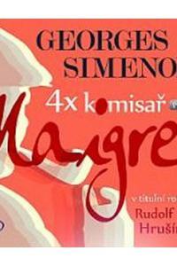 4x komisař Maigret potřetí - Audiokniha