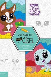 Littlest Pet Shop - Vyfarbujte podľa čísel
