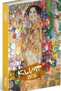 Gustav Klimt - Magnetický diář 2016