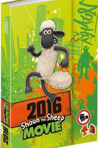 Ovečka Shaun - Magnetický diář 2016