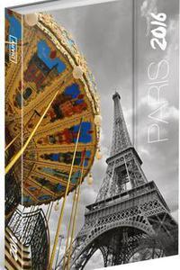 Paríž - Magnetický diář 2016