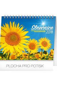 Stolový kalendár Slnečnice s citátmi SK 2018