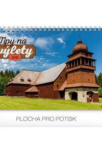 Stolový kalendár Tipy na výlety SK 2018
