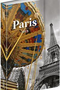 Týždenný magnetický diár Paríž 2018