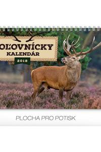 Stolový kalendár Poľovnícky kalendár SK 2018