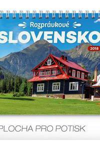 Stolový kalendár Rozprávkové Slovensko SK 2018