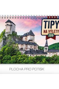 Stolový kalendár Tipy na výlety 2019