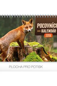 Stolový kalendár Poľovnícky kalendár 2019