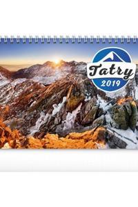 Tatry stolový kalendár 2019