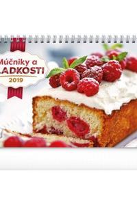 Múčniky a sladkosti stolový kalendár 2019
