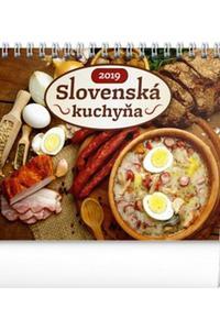 Slovenská kuchyňa stolový kalendár 2019