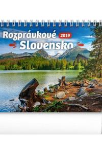 Stolový kalendár Rozprávkové Slovensko 2019