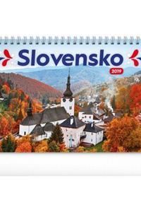 Slovensko stolový kalendár 2019