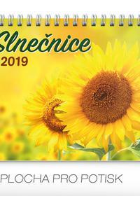 Slnečnice stolový kalendár 2019 s citátmi