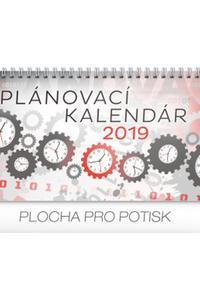 Plánovací kalendár stolový 2019