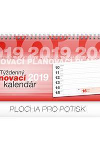 Týždenný plánovací kalendár stolový kalendár 2019 e8e0c93276
