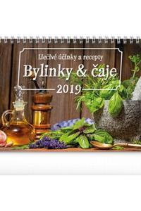 Bylinky a čaje stolový kalendár 2019