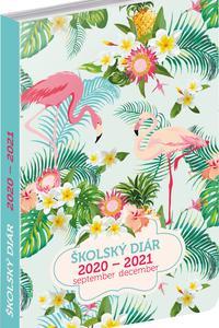 Školský diár Plameniaky 2020-2021