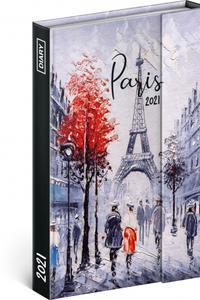 Týždenný magnetický diár Paríž 2021