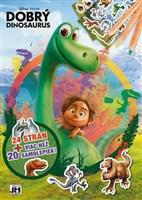 Dobrý dinosaurus - 24 strán + viac než 20 samolepiek! A4