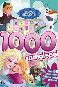 1000 samolepek Ledové království