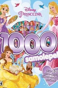 1000 samolepek Disney Princezna