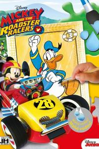 Maľuj vodou! Mickey and the Roadster racers