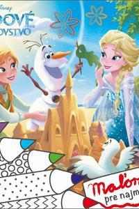 Maľovanie pre najmenších - Ľadové kráľovstvo