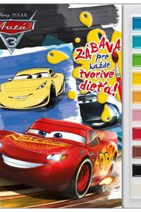 Autá Vymaľovanky s farbami