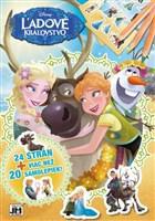 24 strán + viac než 20 samolepiek! Ľadové kráľovstvo