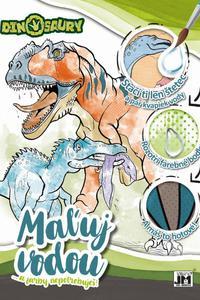 Maľuj vodou - Dinosaury A4