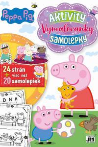 24 strán + viac než 20 samolepiek! Peppa Pig